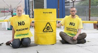 Frackingaren aurkako protestak nazioartean