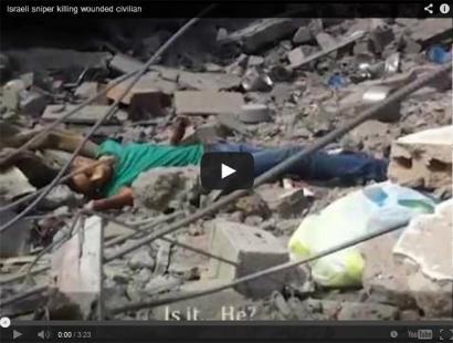 Israelgo armadaren gerra krimenak agerian utzi dituen bideoa