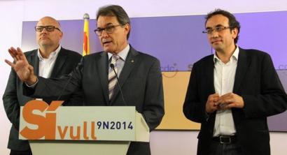 Kataluniako erreferenduma inpugnatzen badute,