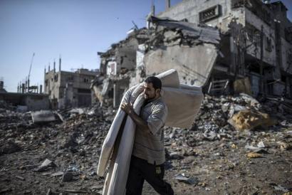 NBEk �berehalako eta baldintzarik gabeko� su-etena eskatu du Gazan