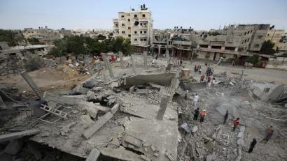 Gazako gerra krimenengatik ardurak har ditzala eskatu dio NBEk Israeli
