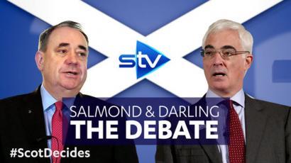 Salmond vs. Darling: Eskoziaren independentzia telebistan eztabaidagai