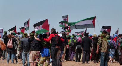 Marokok Askapenako brigadistak jazarri ditu Saharatik kanpo ere