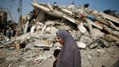 Israel Gaza berriz bonbardatzen hasi da, Egipton negoziatzen ari diren bitartean