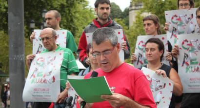 Ikurrinaren aldeko manifestazioa egingo dute Bilbon abuztuaren 22an