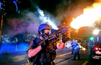 Ferguson: Sua AEBen bihotzean