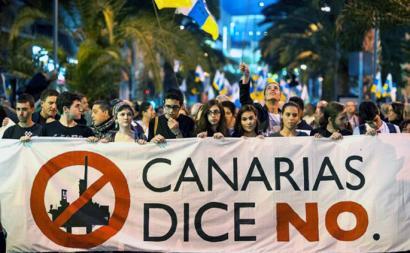 Kanarietako petrolio-zundaketei buruzko galdeketa �ilegala� dela dio Madrilek