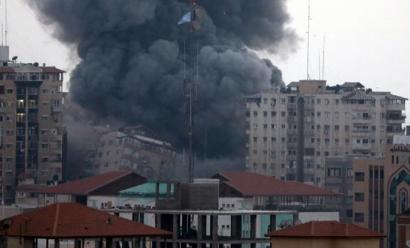 Gazaren aurkako erasoekin jarraituko dutela jakinarazi du Netanyahuk