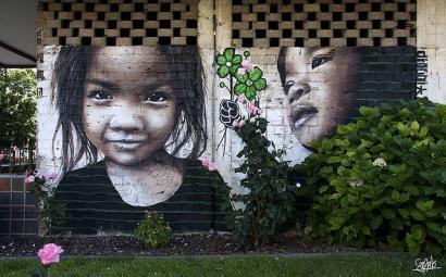 Dizebi, arte urbanoa