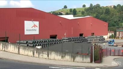 Arcelor Mittalek Zumarragako fabrika itxiko du aldi baterako