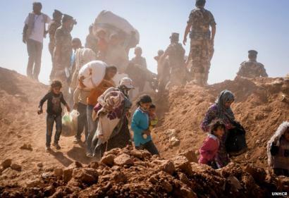 Hiru milioi errefuxiatu Sirian Nazio Batuen arabera