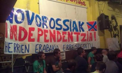 Donbasseko herritarrei elkartasuna adierazteko jardunaldiek arrakasta izan dute Altsasun