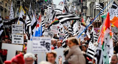 Bretainiaren batasunaren alde manifestazio jendetsua deitu dute irailaren 27an