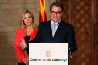 Artur Mas, Rajoyri zuzenduta: