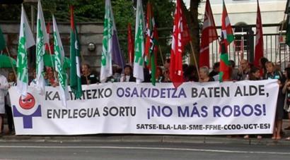 Osakidetzako sindikatuek mahai sektoriala utzi eta mobilizazioak iragarri dituzte