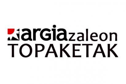Bota zure gezia Argiazaleon Topaketan