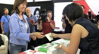 Idoia Mendia: PSE-EEko idazkari nagusi izango den lehen emakume euskalduna