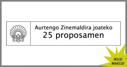 Aurtengo Zinemaldira joateko 25 proposamen