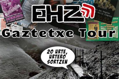 Gaztetxeetan ospatuko dute Euskal Herria Zuzenean proiektuaren 20. urteurrena