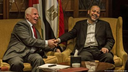 Gazan batasun gobernua berrezartzea adostu dute Hamasek eta Al Fatah-k