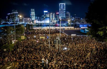 Zerk eragin ditu Hong Kongeko protestak?