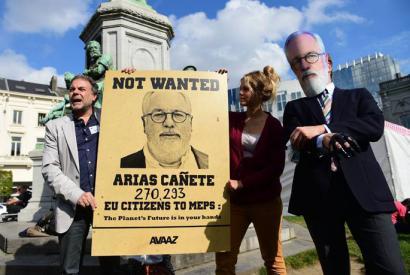 Arias Ca�ete, Europako ekologistek inola ere nahi ez duten komisarioa