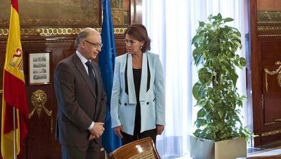 Montoro-Barcina: 1.513 milioi euroko menpekotasuna