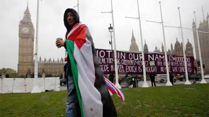 Erresuma Batuak Palestina Estatua dela aitortzea proposatu du