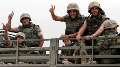 Espainiak Irakera soldaduak bidaliko ditu berriz