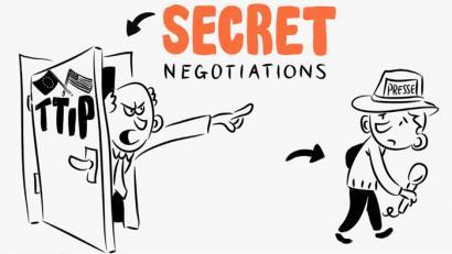 Zer da zerbitzu publikoak pribatizatu nahi dituen TTIP hori?