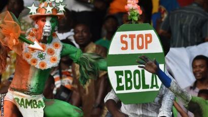 Maroko, Afrikako Kopatik at, ebola dela-eta hura atzeratu nahi izateagatik