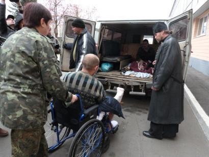 ARGIA Donbassetik: Hiru gerra-preso ukrainarren entrega