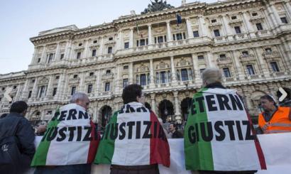 Amiantoaren auzia Italian: fiskalak zigorra bertan behera uzteko eskatu du, delituak preskribitu egin duelako