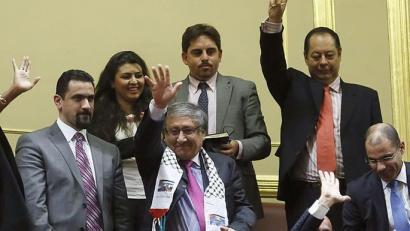 Palestina estatu independente gisa onartzeko eskatu dio Espainiako Kongresuak Gobernuari