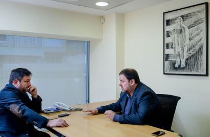 Oriol Junqueras (ERC): hauteskundeetan batera ez, batasun gobernuan bai