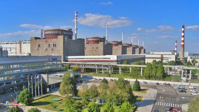 Istripua gertatu da Ukrainan Zaporizhiako zentral nuklearrean