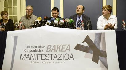 EAJ ez da joango presoen eskubideen aldeko urtarrileko manifestaziora