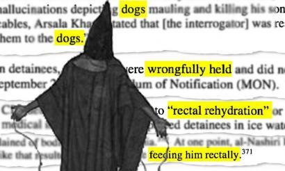 CIAren tortura programa: soka uste baino luzeagoa da