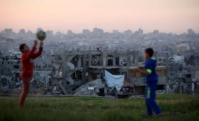 2014 urtearen amaiera Palestinan, argazkitan