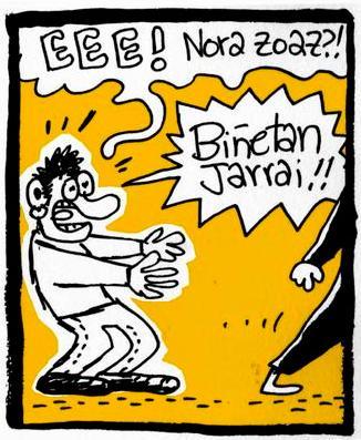 'H28' euskarazko aldizkari satirikoa, asteazkenean abian