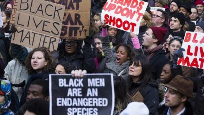 Afroamerikarrek arnasa hartzeko eskubidea aldarrikatzen dute Malcolm X hil eta 50 urtera