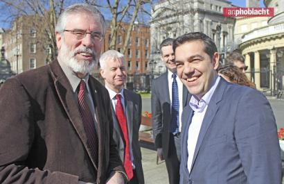 Sinn Féinek aldaketarako ezkerreko koalizio zabala nahi du Irlandan