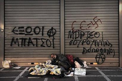 Pobreziari aurre egiteko neurriak aurkeztu ditu Syrizak