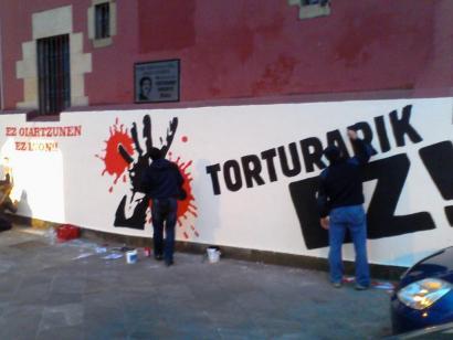 Ekimen ugari torturaren aurkako egunean