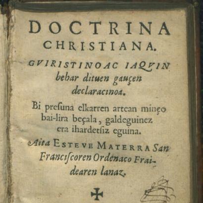 Nor zen Esteve Materra, lapurtera klasikoz idatzitako lehen obraren egilea?