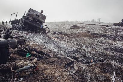 Ukrainako gerraren gordina