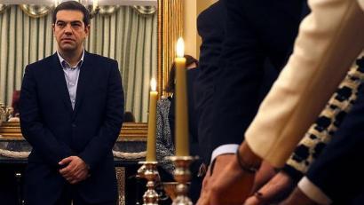 Tsipras eta Syriza Grezian gobernatzeko zirrikitu bila