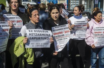 Europako gizarte politiken norabidea: Egizu lan eta biziraungo duzu
