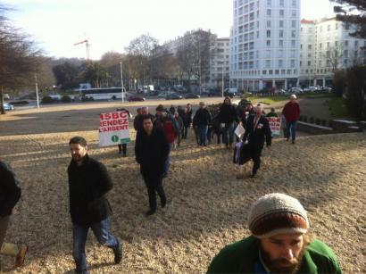 Bizi-HSBC afera: poliziak boluntarioei ADN arrastoak hartu nahi dizkie