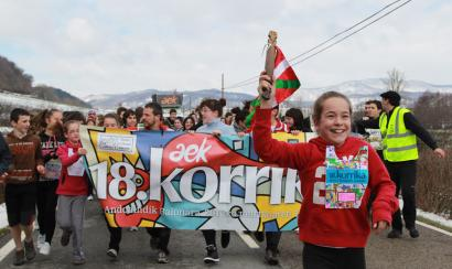 Totu est prontu in sas terras bascas pro sa manifestatzione prus manna chi si faghet pro una limba: sa Korrika